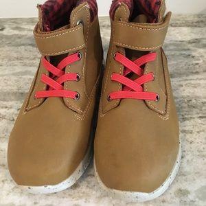 Boys OshKosh Leather Finish Boots